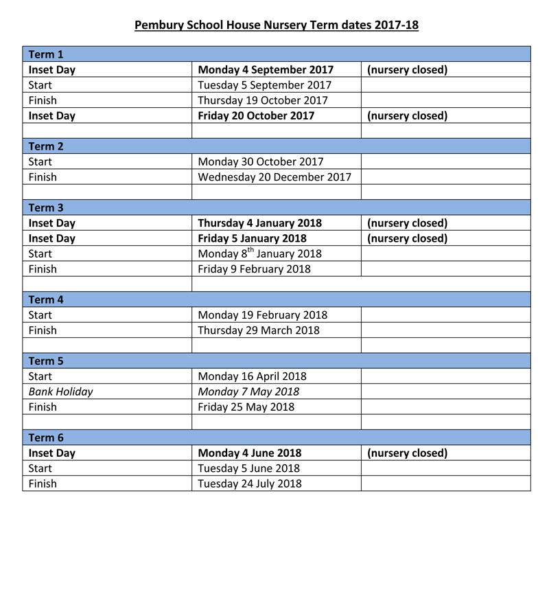 term-dates-2017-18